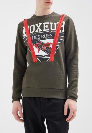 Свитшот Boxeur Des Rues. Цвет: хаки