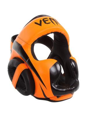 Шлем боксерский Venum Elite Neo Orange. Цвет: оранжевый