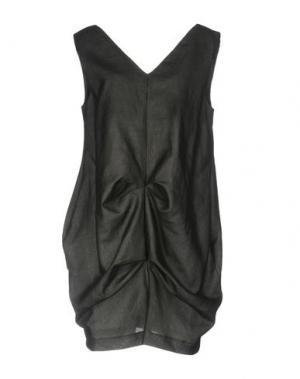 Короткое платье UN-NAMABLE. Цвет: стальной серый