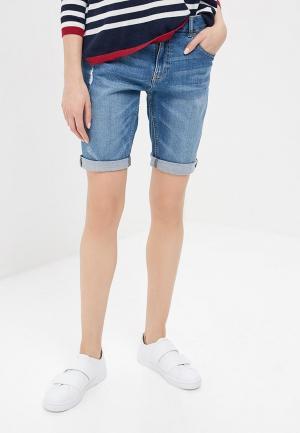 Шорты джинсовые H:Connect. Цвет: синий