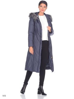 Пальто JASPER AVI. Цвет: серо-голубой