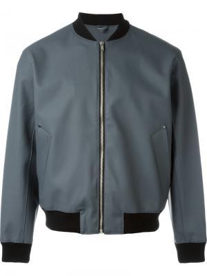 Куртка-бомбер Vastertorp Stutterheim. Цвет: серый