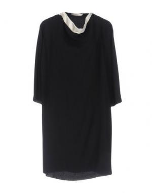 Короткое платье BOUCHRA JARRAR. Цвет: черный