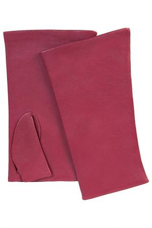 Перчатки Michel Katana. Цвет: марсала