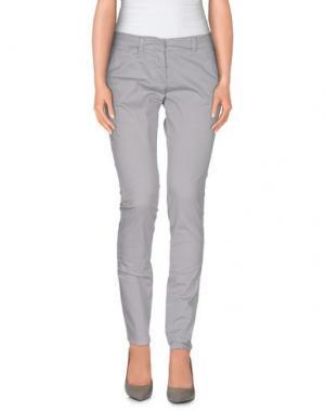 Повседневные брюки ANNIE P.. Цвет: светло-серый