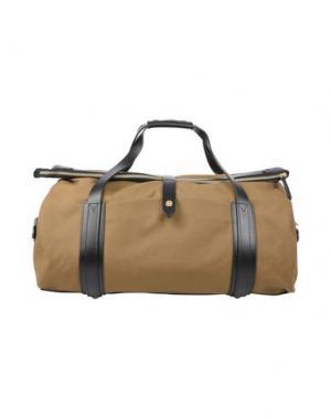 Дорожная сумка MISMO. Цвет: хаки