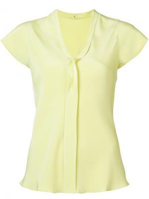 V-neck shirt Peter Cohen. Цвет: жёлтый и оранжевый