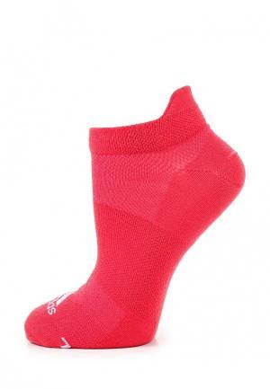 Носки adidas Performance. Цвет: коралловый
