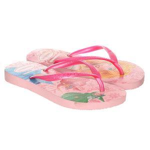 Вьетнамки детские  Slim Princess Pink Havaianas. Цвет: розовый