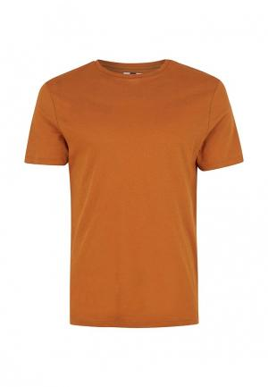 Футболка Topman. Цвет: оранжевый