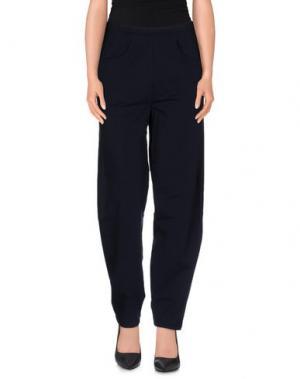 Повседневные брюки CORINNA CAON. Цвет: синий
