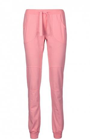 Спортивные брюки джерси Deha. Цвет: розовый