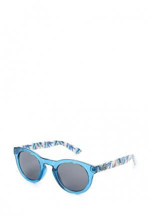 Очки солнцезащитные Vans. Цвет: синий
