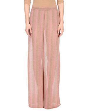 Повседневные брюки DEVOTION. Цвет: пастельно-розовый