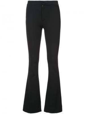 Расклешенные брюки Mcguire Denim. Цвет: чёрный