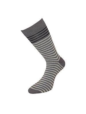 Носки ГРАНД. Цвет: серый, бирюзовый