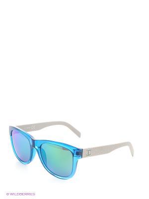 Солнцезащитные очки JC 597S 90Q Just Cavalli. Цвет: голубой