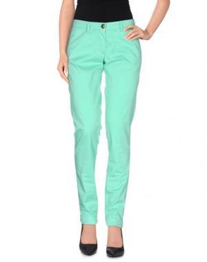 Повседневные брюки VERYSIMPLE. Цвет: зеленый