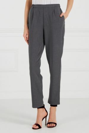 Серые брюки на эластичном поясе Cyrille Gassiline BASE. Цвет: серый