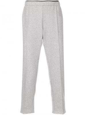 Spacer post-run pants Satisfy. Цвет: серый