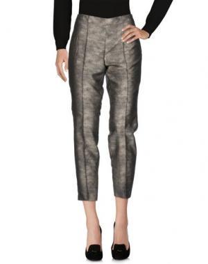 Повседневные брюки LUISA CERANO. Цвет: серый