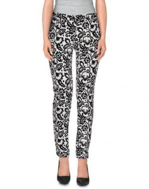 Повседневные брюки NIOI. Цвет: белый