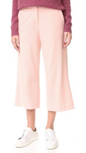 Юбка-брюки до щиколотки James Jeans. Цвет: розовый лепесток