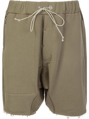 Спортивные шорты Mr. Completely. Цвет: зелёный