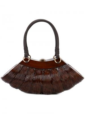 Сумка-тоут Collette Classic Large Rocio. Цвет: коричневый