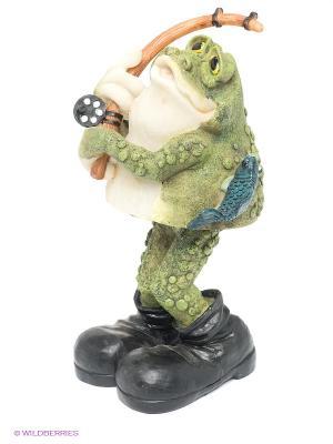 Фигурка Лягушка Sealmark. Цвет: зеленый, черный, синий