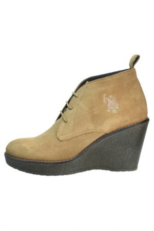 Sneakers U.S. Polo Assn.. Цвет: dark beige