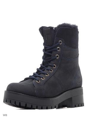 Ботинки DOCKERS.. Цвет: темно-синий