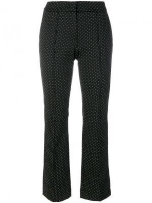Укороченные брюки с принтом Luisa Cerano. Цвет: многоцветный