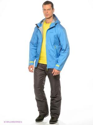 Куртка Bergans. Цвет: голубой