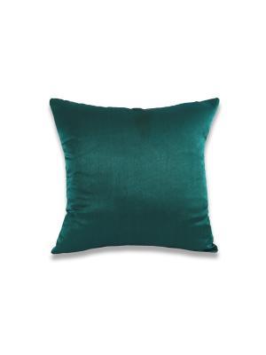 Подушка Изумруд РЮШАЛЬ. Цвет: зеленый