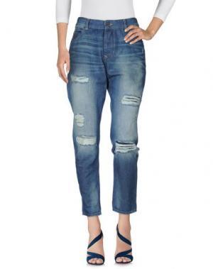 Джинсовые брюки MAISON SCOTCH. Цвет: синий