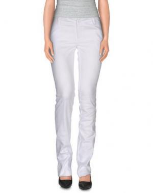 Повседневные брюки LA KORE. Цвет: белый