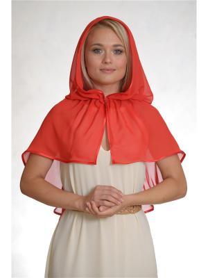Неспадающий платок Тюльпан Платков.РФ. Цвет: красный
