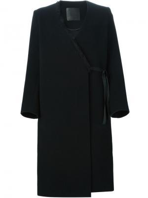 Пальто Piper D.Efect. Цвет: чёрный