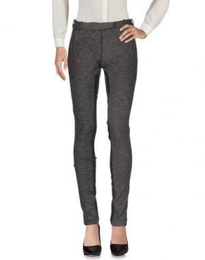 Повседневные брюки QCQC. Цвет: свинцово-серый