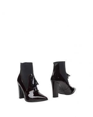 Полусапоги и высокие ботинки PIERRE DARRÉ. Цвет: красно-коричневый