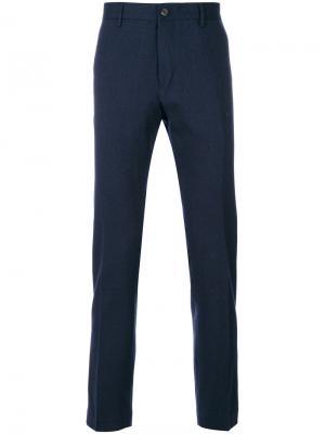 Прямые брюки Closed. Цвет: синий