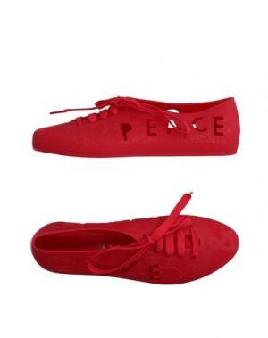 Обувь на шнурках F-TROUPE. Цвет: красный