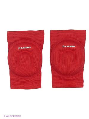 Защита колена 6755 Larsen. Цвет: красный