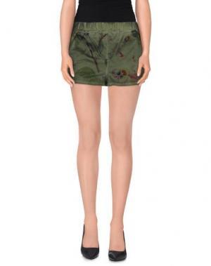 Повседневные шорты SWEET ROSEE. Цвет: зеленый