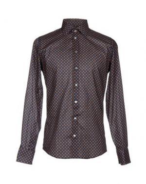 Pубашка RICHARD JAMES. Цвет: темно-синий