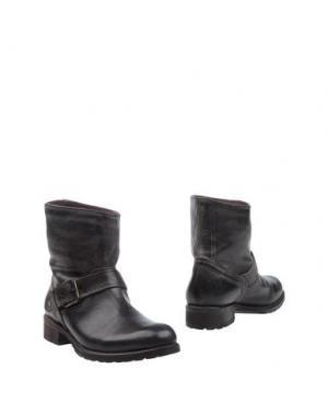 Полусапоги и высокие ботинки KEB. Цвет: темно-коричневый