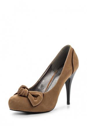 Туфли Lisaw. Цвет: коричневый