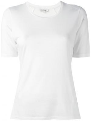 Классическая футболка Toteme. Цвет: белый