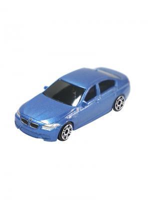 Машинка BMW M5, Синяя (1:64) (PS-344003S-B) Pit Stop. Цвет: синий
